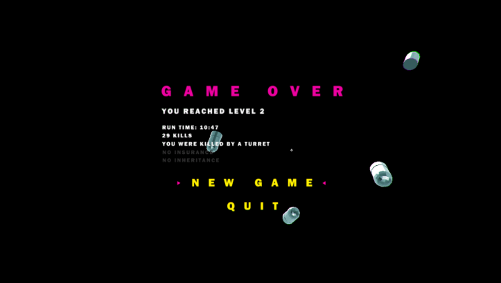 HB 18 - Game Over